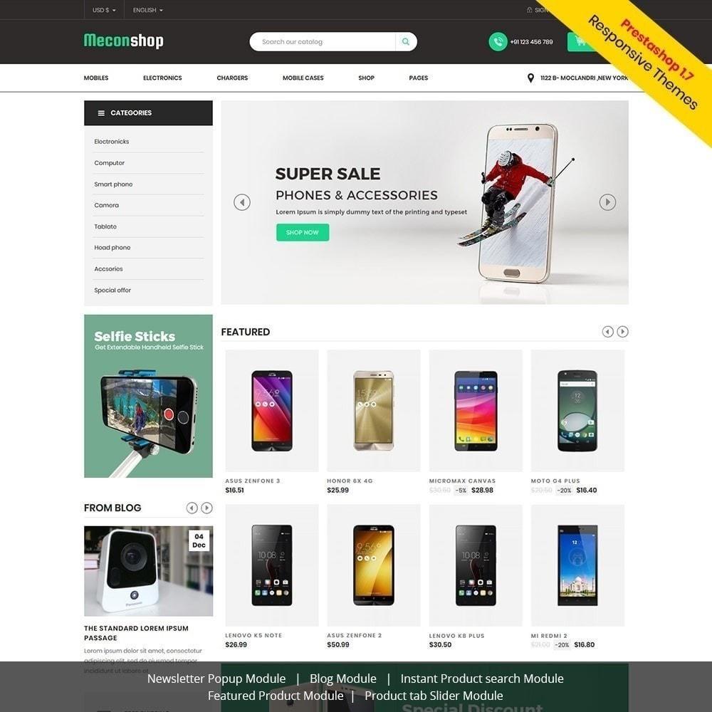 theme - Elektronik & High Tech - Mecon Mobile - Elektrogeschäft - 2