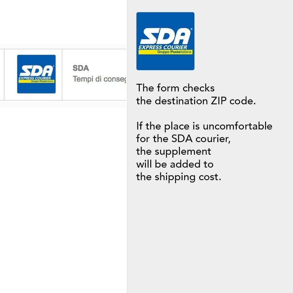 module - Verzendkosten - SDA with support for disadvantaged locations - 3