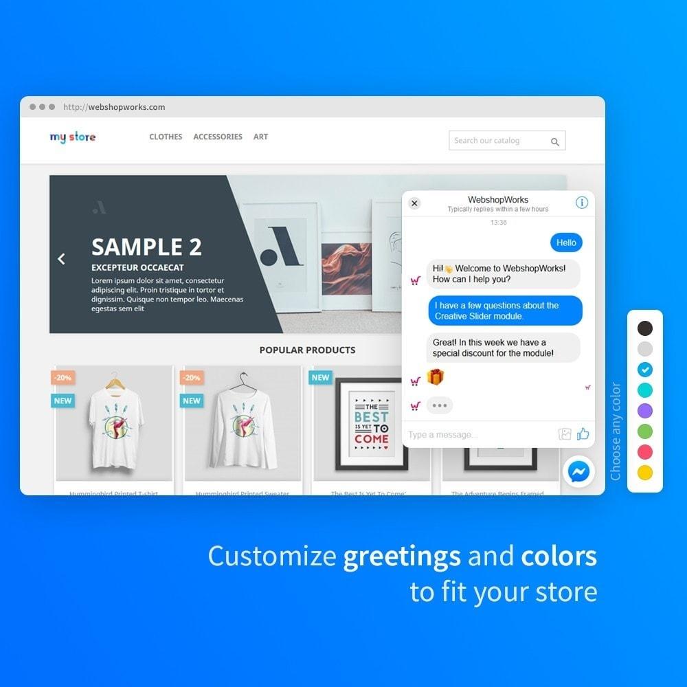 module - Поддержка и онлайн-чат - Messenger - Customer Live Chat - 2