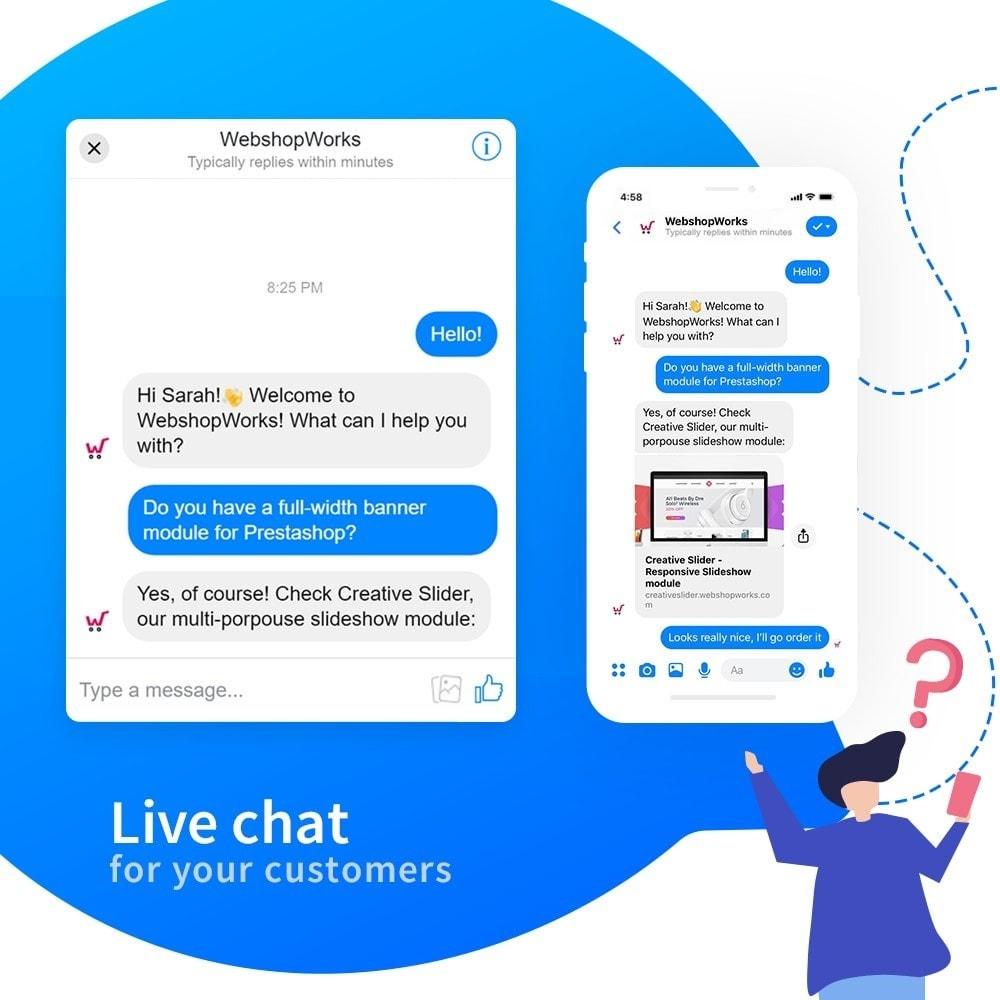 module - Поддержка и онлайн-чат - Messenger - Customer Live Chat - 3