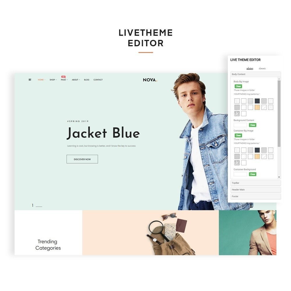 theme - Mode & Schoenen - Nova Fashion Store - 2