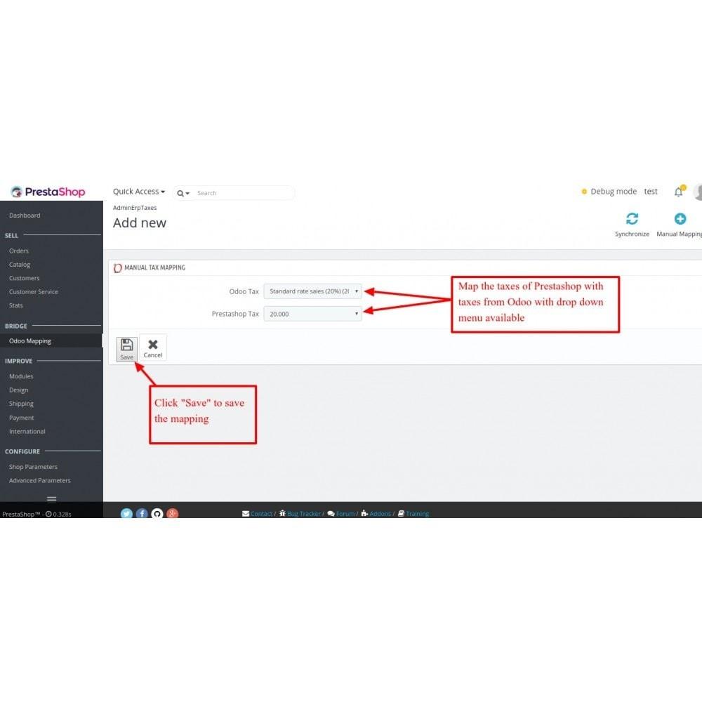 module - Conexão com software de terceiros (CRM, ERP...) - Odoo - OpenERP Bridge - 15