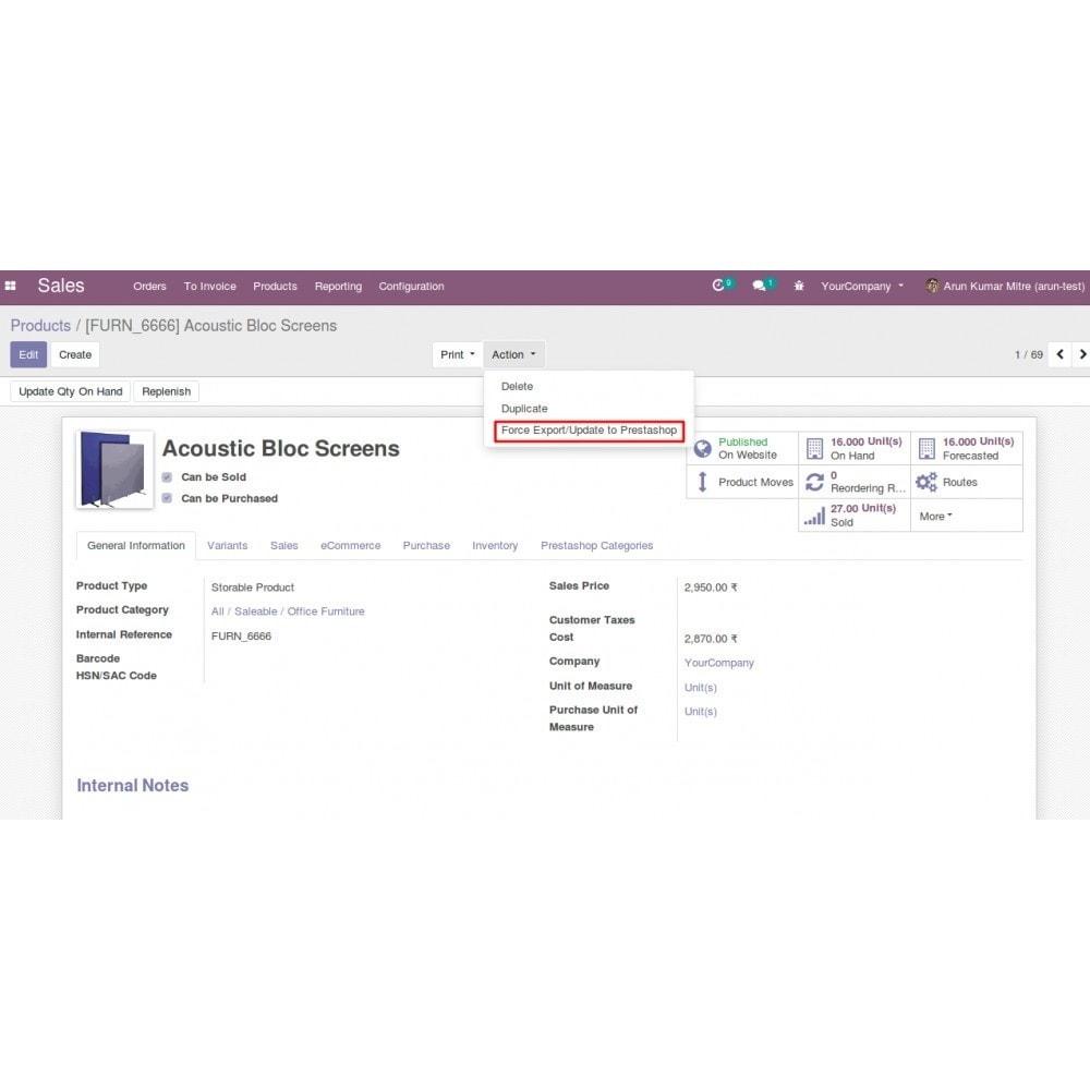 module - Conexão com software de terceiros (CRM, ERP...) - Odoo - OpenERP Bridge - 19