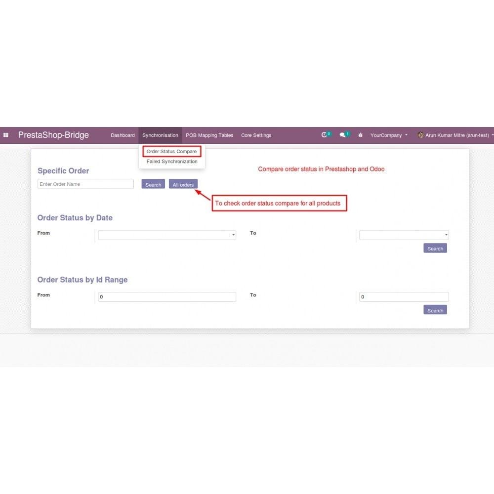 module - Conexão com software de terceiros (CRM, ERP...) - Odoo - OpenERP Bridge - 20