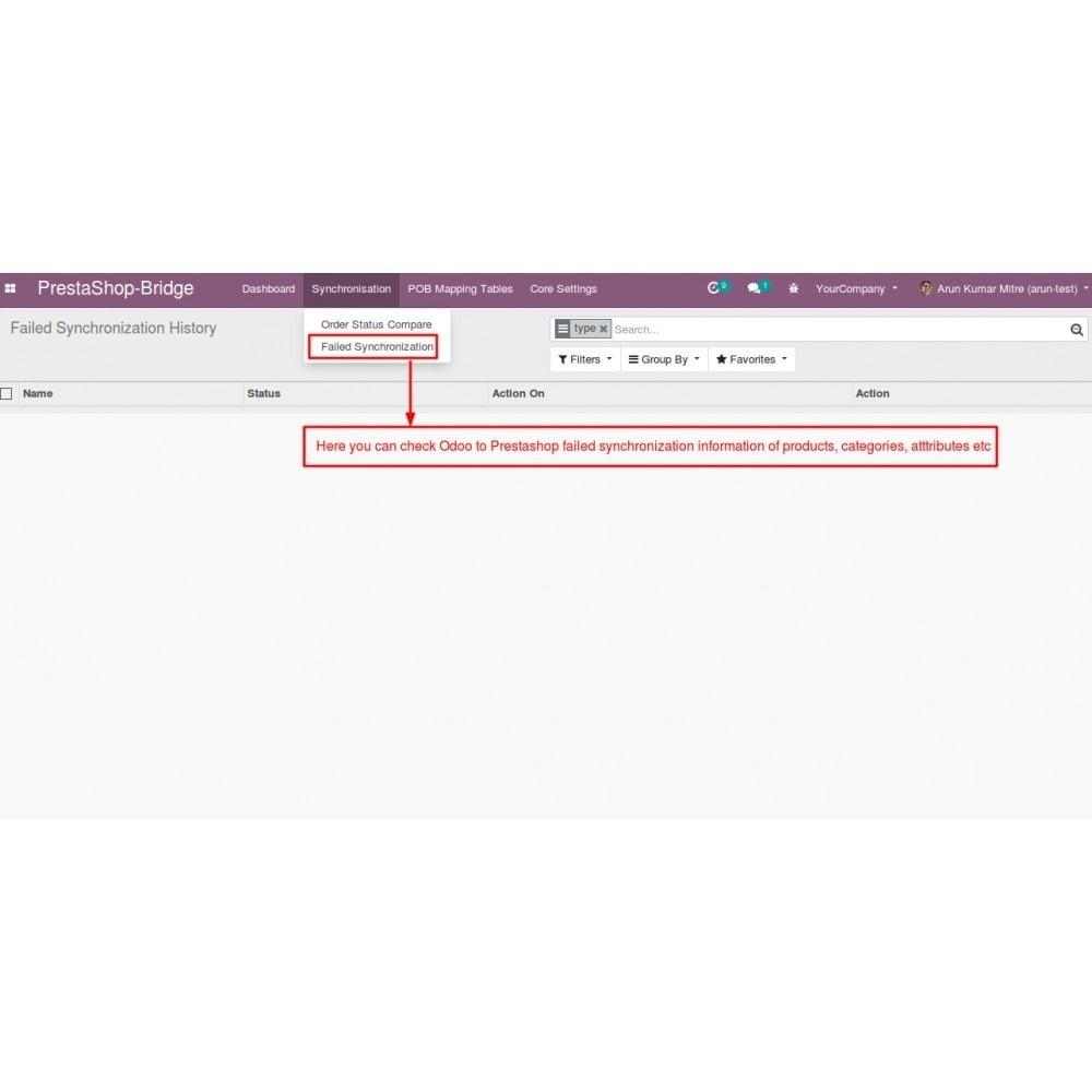 module - Conexão com software de terceiros (CRM, ERP...) - Odoo - OpenERP Bridge - 21