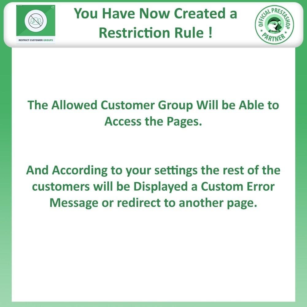 module - Informação Adicional & Aba de Produto - Restrict Products, Category & CMS By Customer Groups - 13