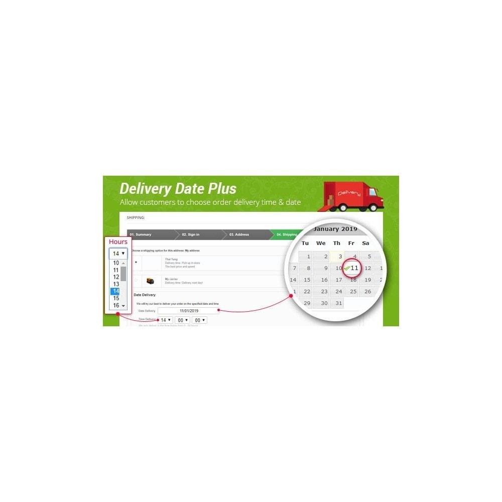 module - Data de entrega - Delivery Date Plus - Choose order delivery time & date - 1