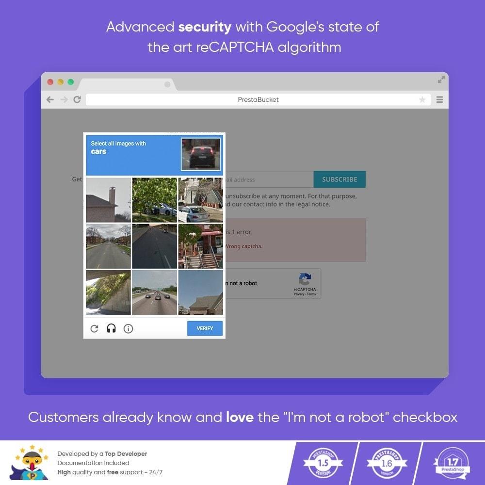 module - Security & Access - CAPTCHA Google reCAPTCHA PRO + anti Fake Accounts - 7