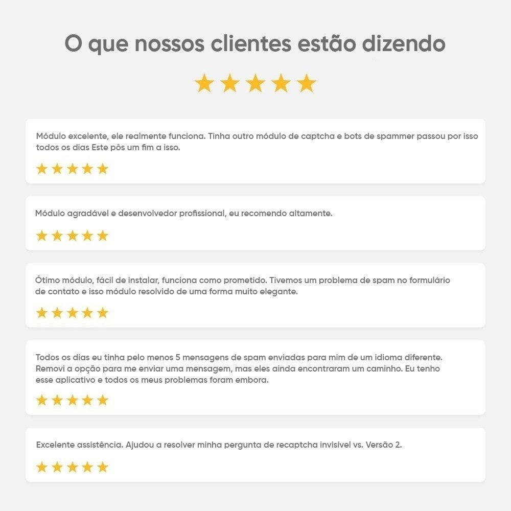 module - Segurança & Acesso - CAPTCHA Google reCAPTCHA PRÓ + anti Contas Falsas - 2