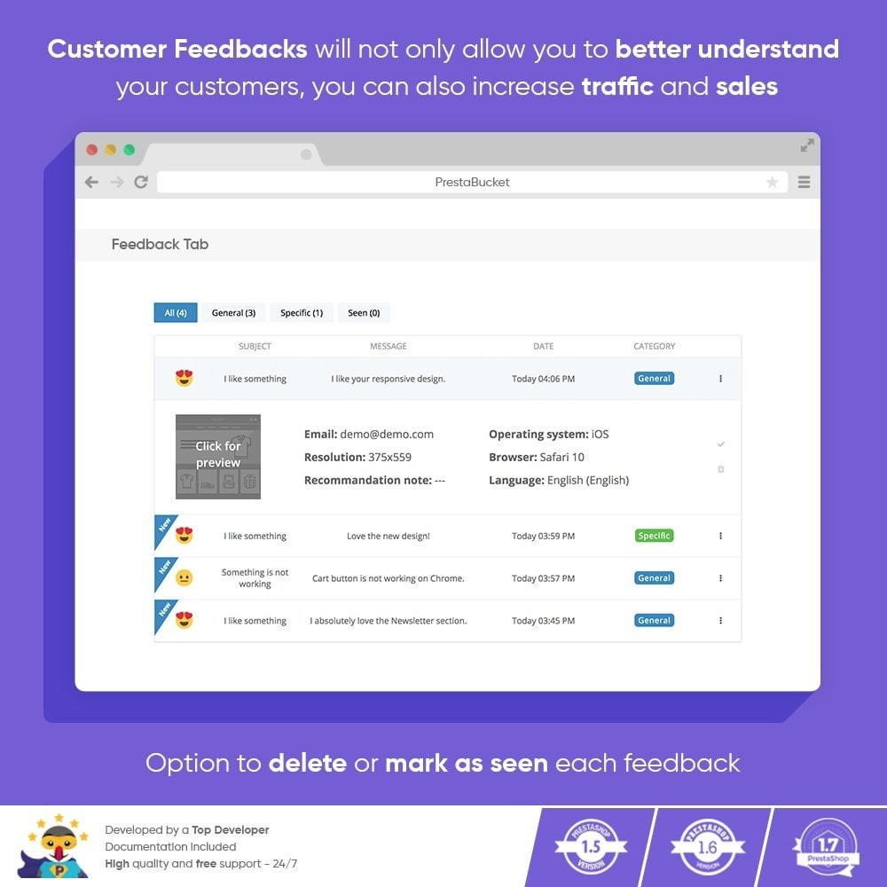 module - Customer Reviews - Advanced Customer FEEDBACK Collect Vital Information - 6