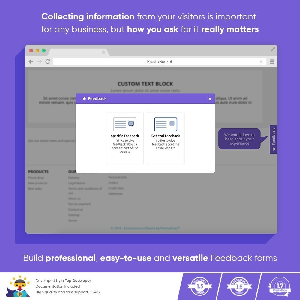 module - Customer Reviews - Advanced Customer FEEDBACK Collect Vital Information - 9