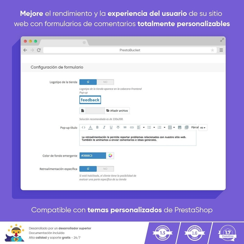 module - Comentarios de clientes - COMENTARIOS del Cliente Recopilar Información Vital - 4