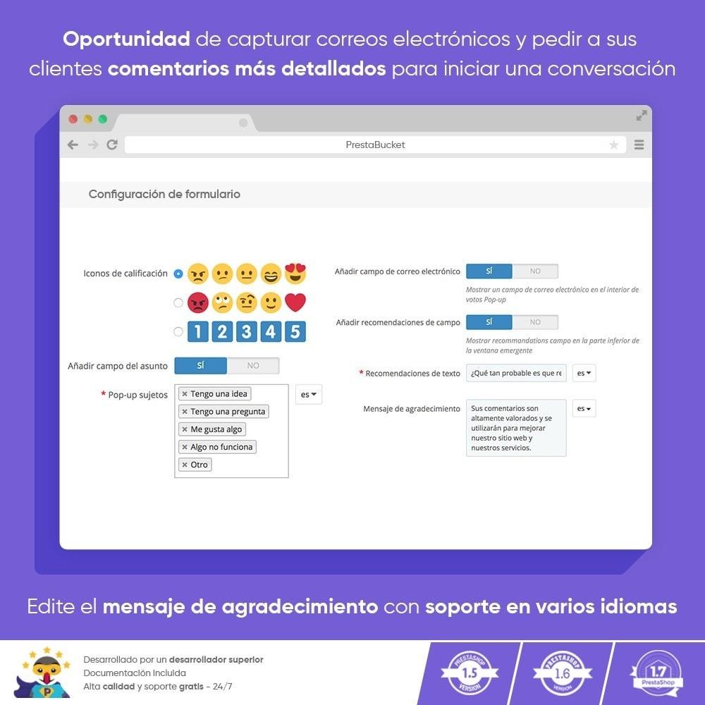 module - Comentarios de clientes - COMENTARIOS del Cliente Recopilar Información Vital - 5