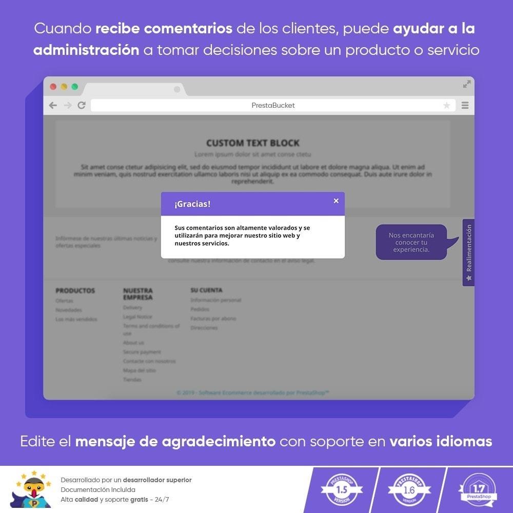 module - Comentarios de clientes - COMENTARIOS del Cliente Recopilar Información Vital - 10