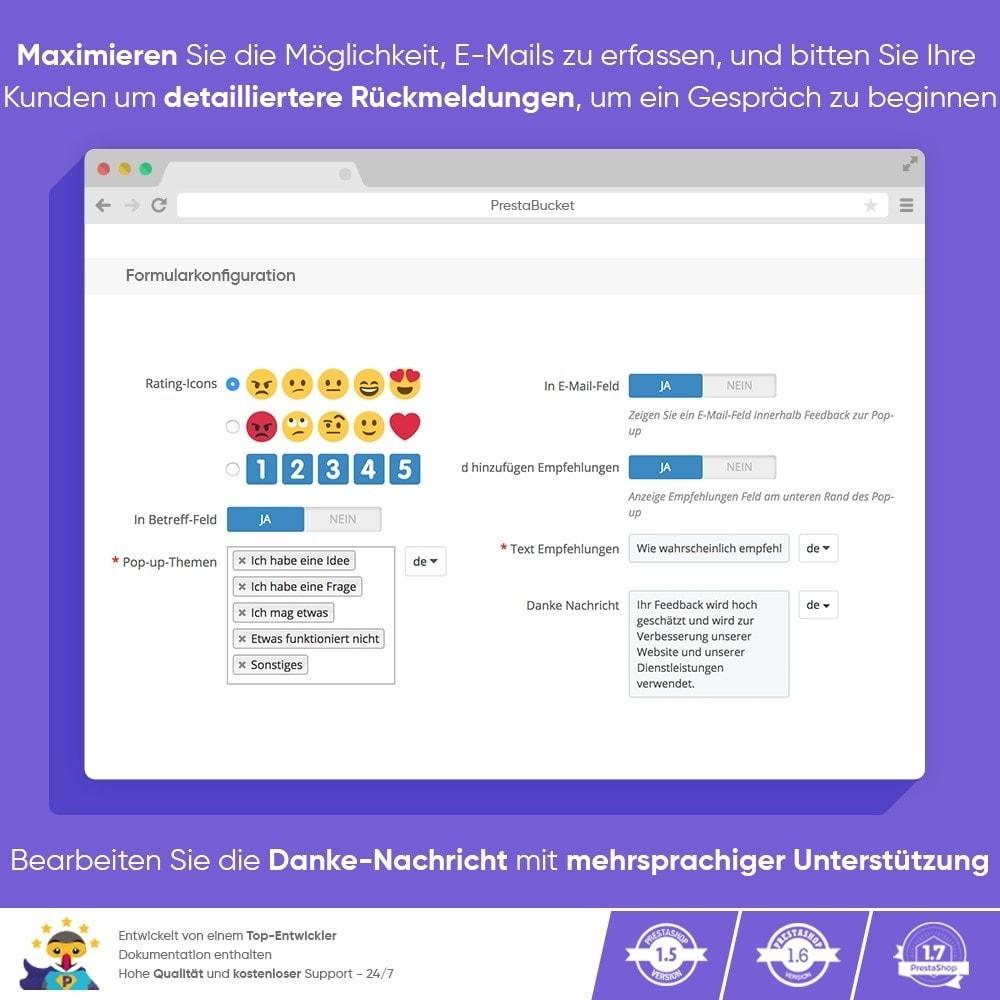 module - Kundenbewertungen - KUNDENFEEDBACK - Sammeln Sie Wichtige Informationen - 5