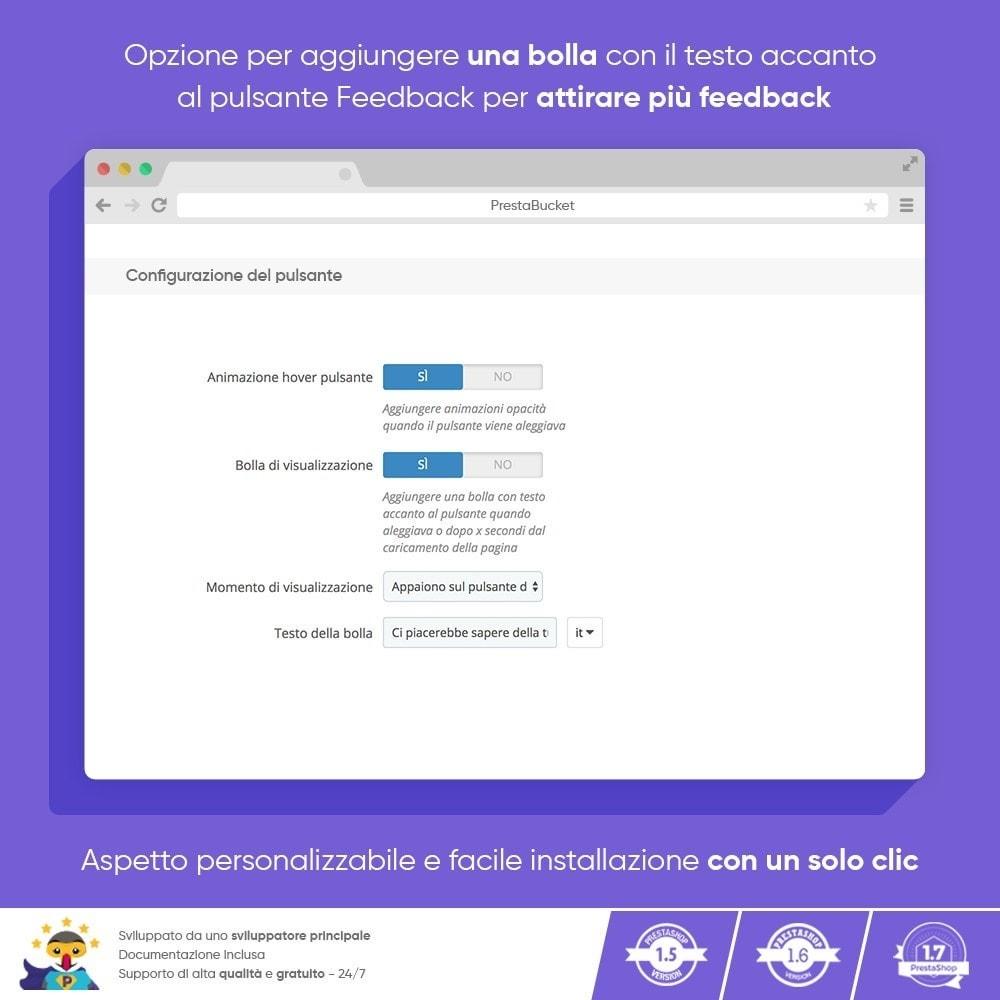 module - Recensioni clienti - FEEDBACK cliente - Raccogliere Informazioni Vitali - 3