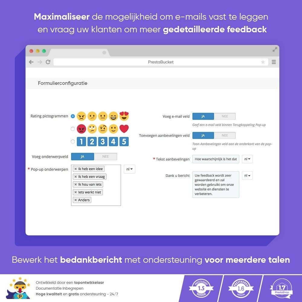 module - Klantbeoordelingen - Klant FEEDBACK - Verzamel Vitale Informatie - 5