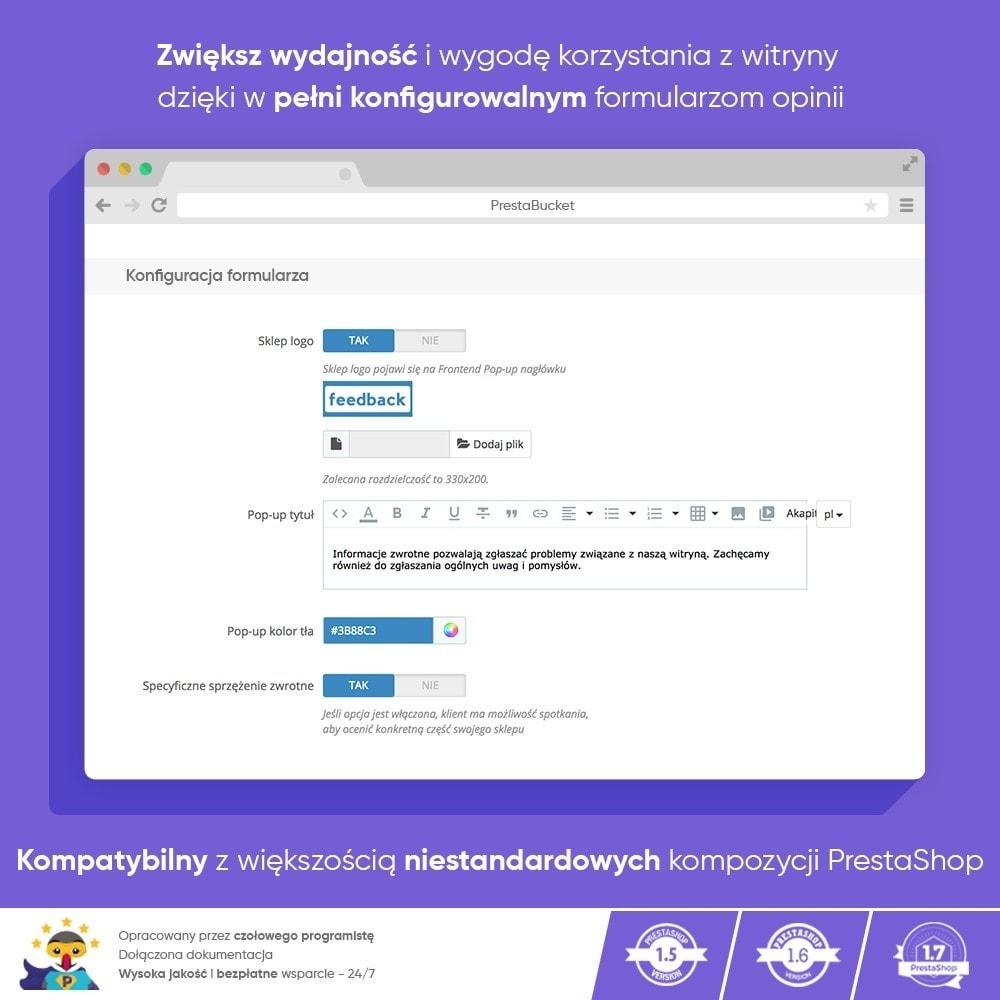 module - Opinie klientów - Klient INFORMACJE ZWROTNE Zbieraj Istotne Informacje - 4