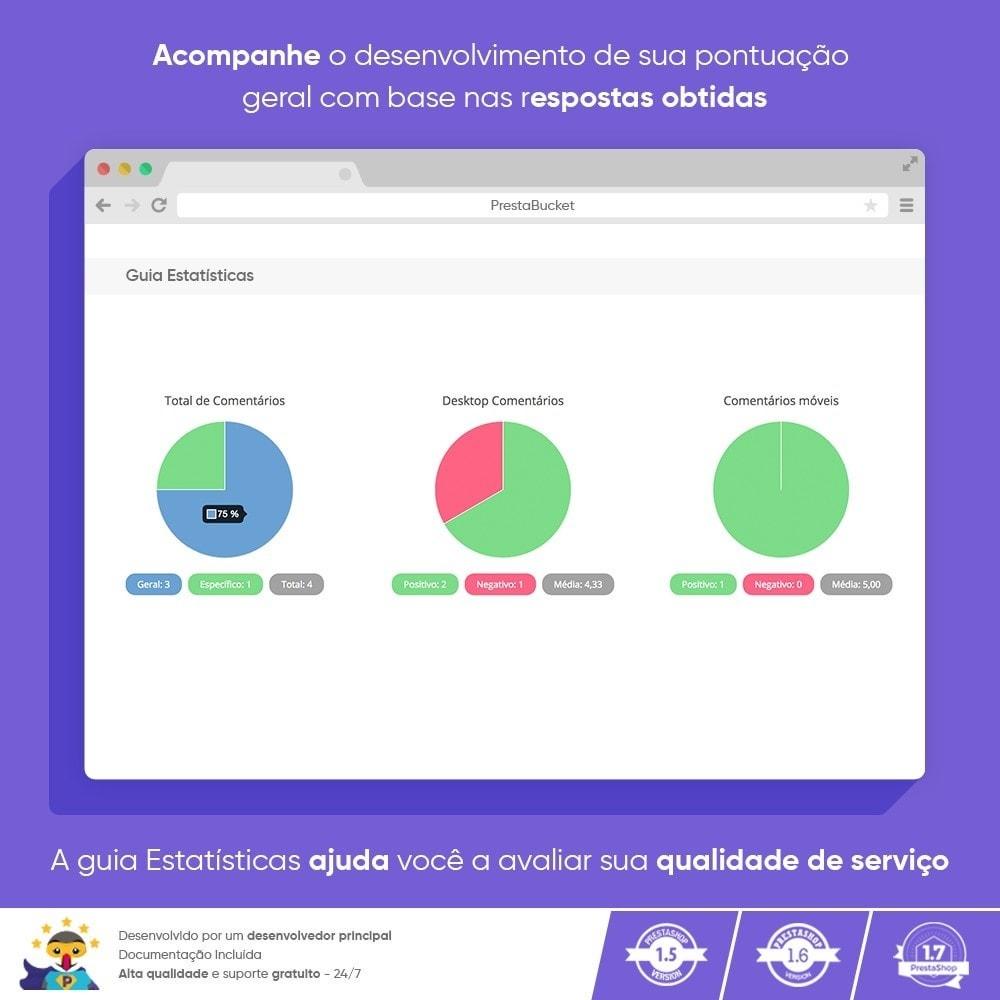 module - Opiniões de clientes - Cliente Avançado FEEDBACK Coletar Informações Vitais - 7