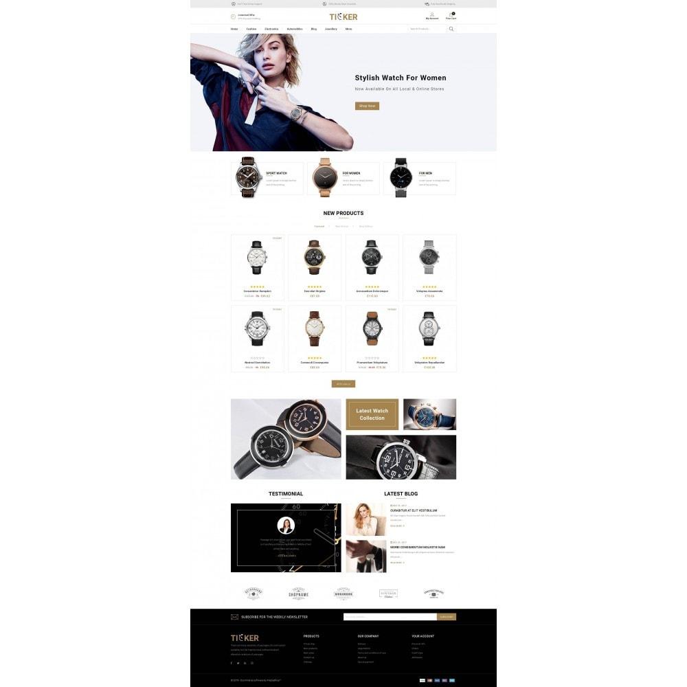 theme - Biżuteria & Akcesoria - Ticker - Watch Store - 2
