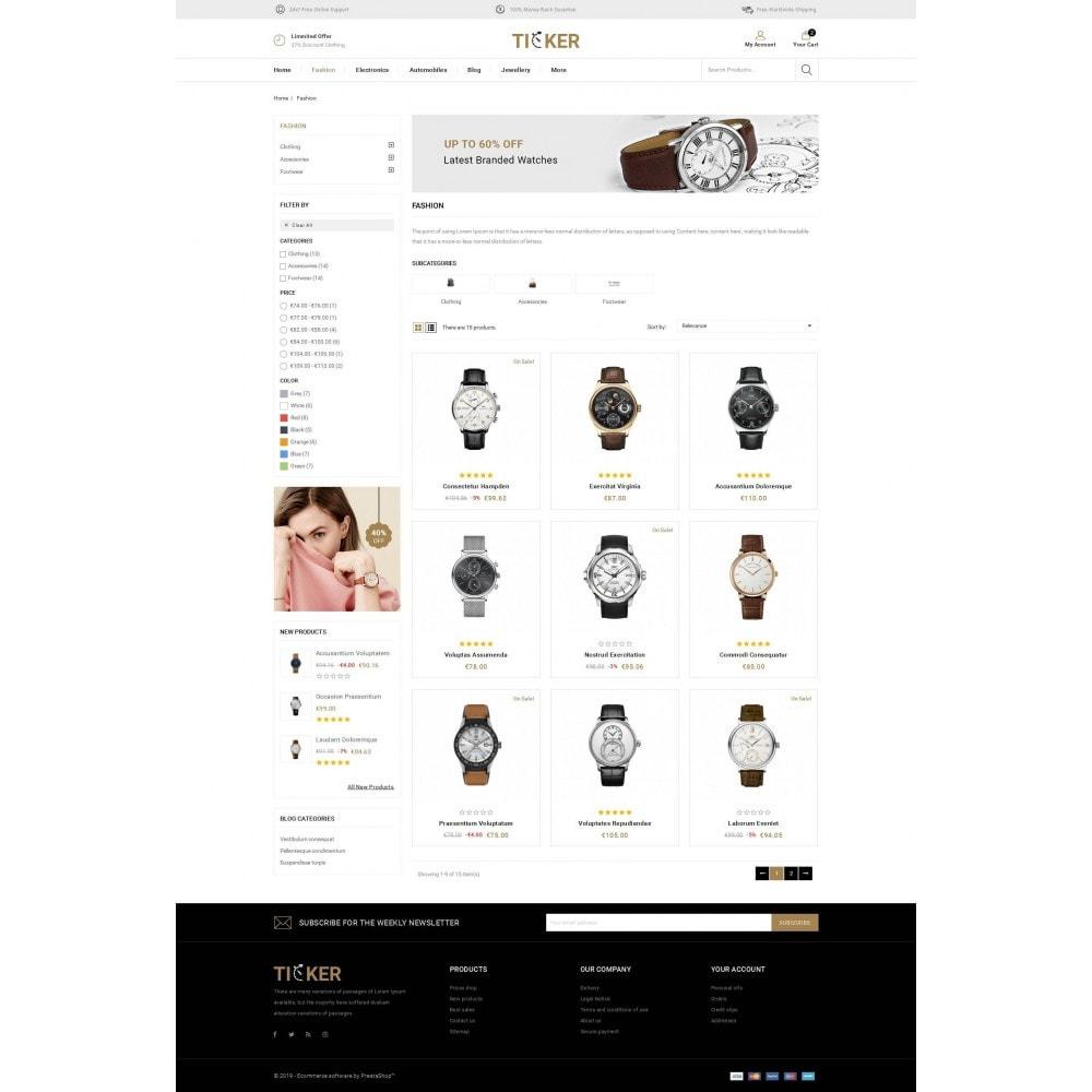 theme - Biżuteria & Akcesoria - Ticker - Watch Store - 3