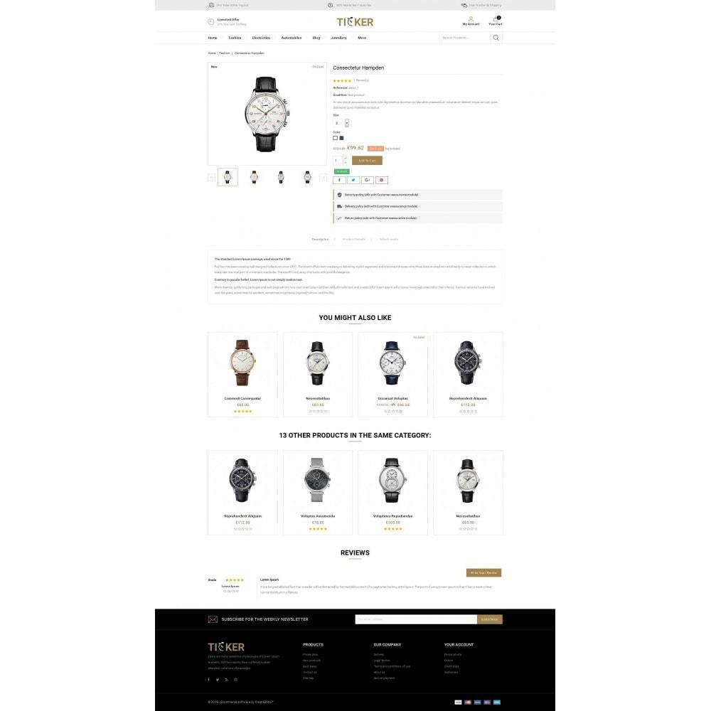 theme - Biżuteria & Akcesoria - Ticker - Watch Store - 5