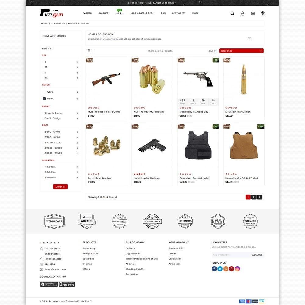 theme - Sport, Loisirs & Voyage - Firegun - Gun & Weapons Store - 3
