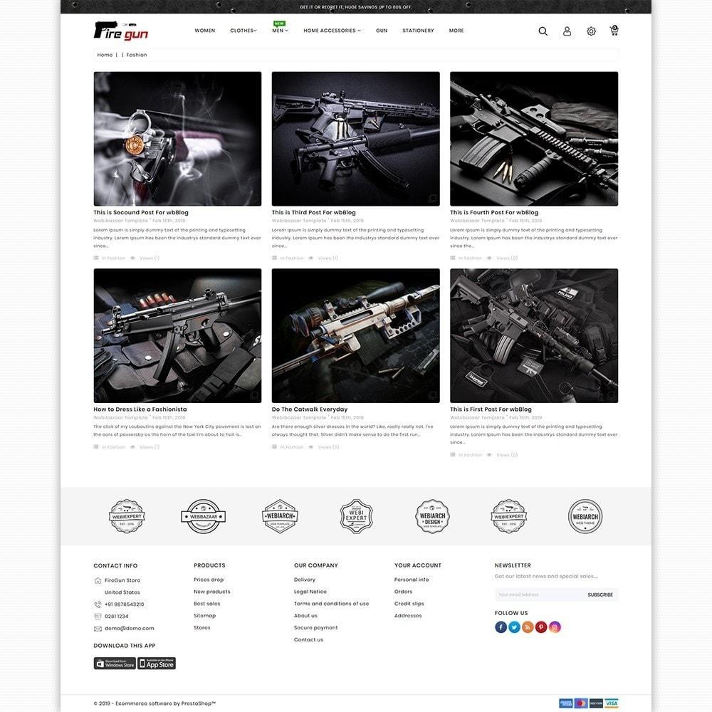 theme - Sport, Loisirs & Voyage - Firegun - Gun & Weapons Store - 6