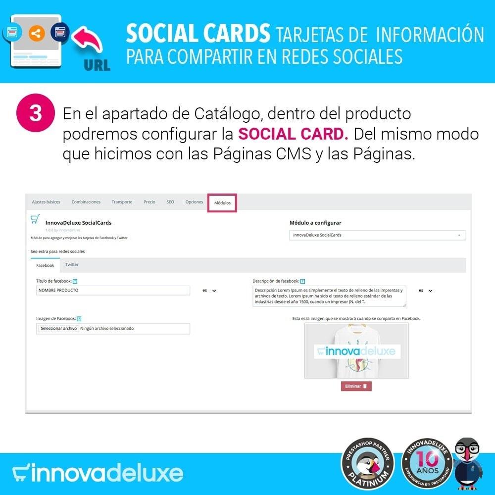 module - Compartir contenidos y Comentarios - SocialCards, tarjetas para compartir en redes sociales - 4
