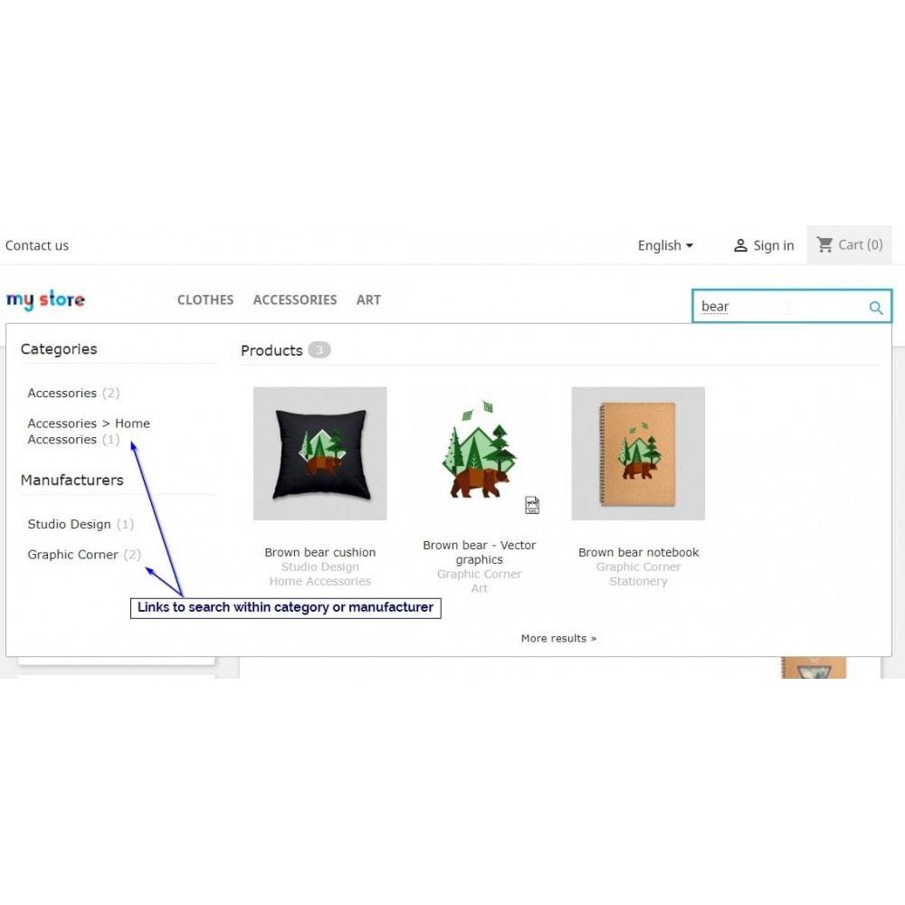 module - Ricerche & Filtri - JoliSearch : advanced visual search - 2
