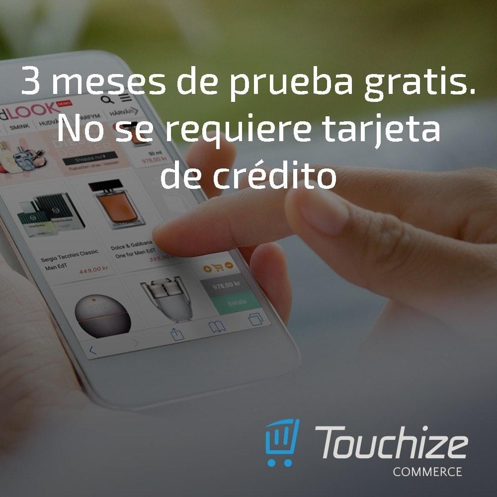 module - Dispositivos móviles - Touchize Commerce - 2