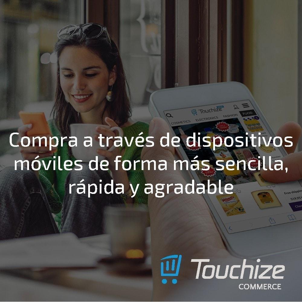 module - Dispositivos móviles - Touchize Commerce - 3