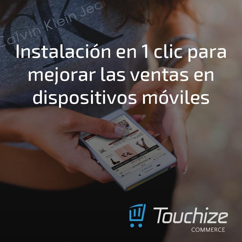 module - Dispositivos móviles - Touchize Commerce - 4