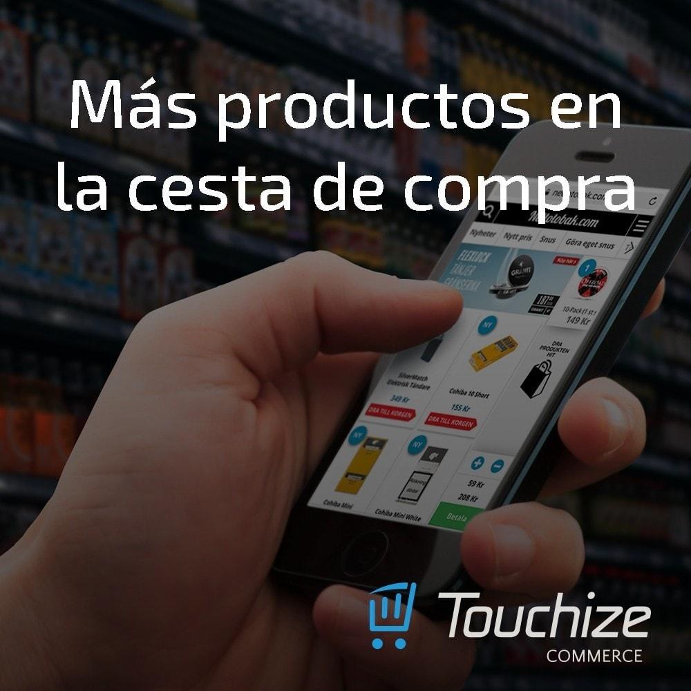 module - Dispositivos móviles - Touchize Commerce - 5