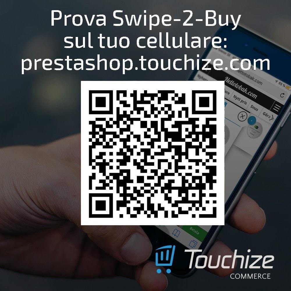 module - Dispositivi mobili - Touchize Commerce - 1