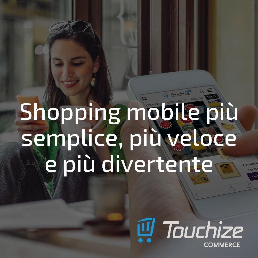 module - Dispositivi mobili - Touchize Commerce - 3