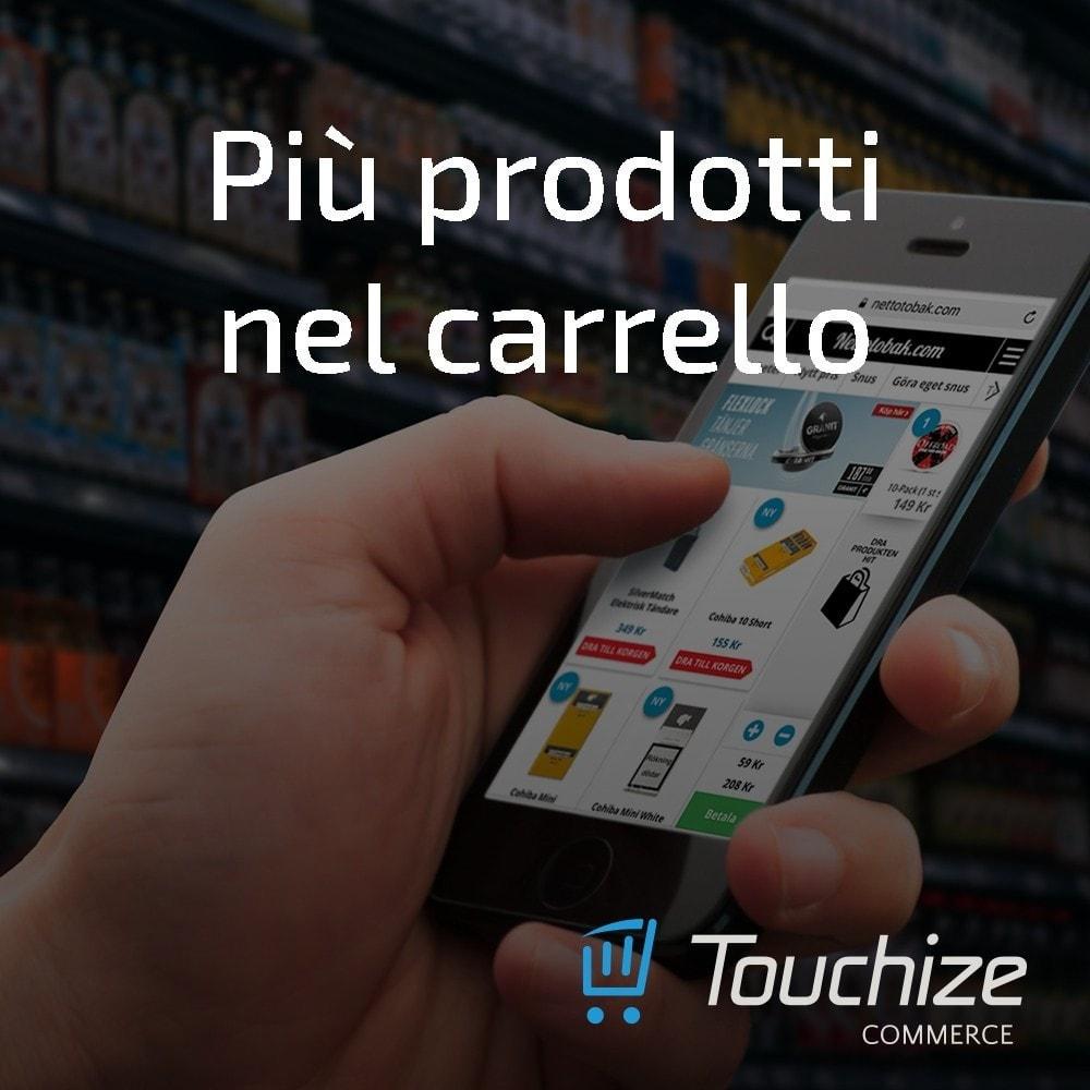 module - Dispositivi mobili - Touchize Commerce - 5