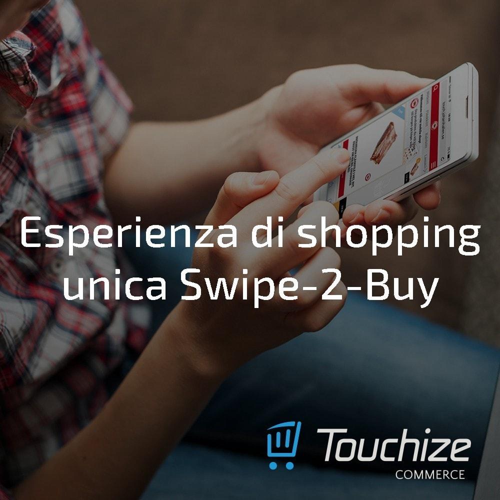 module - Dispositivi mobili - Touchize Commerce - 6