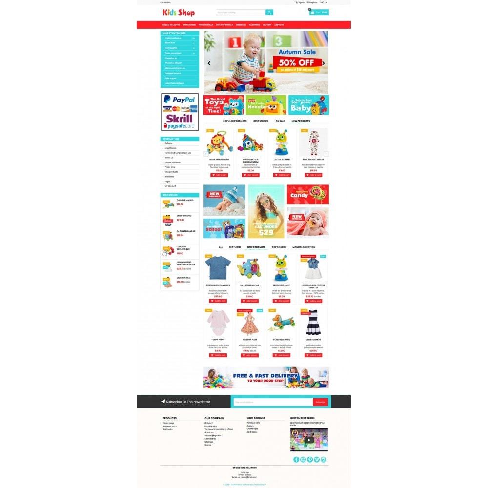 theme - Enfants & Jouets - New Kids shop, Toy, play, cloths Multicolor store - 2