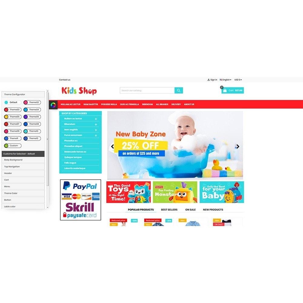 theme - Enfants & Jouets - New Kids shop, Toy, play, cloths Multicolor store - 3