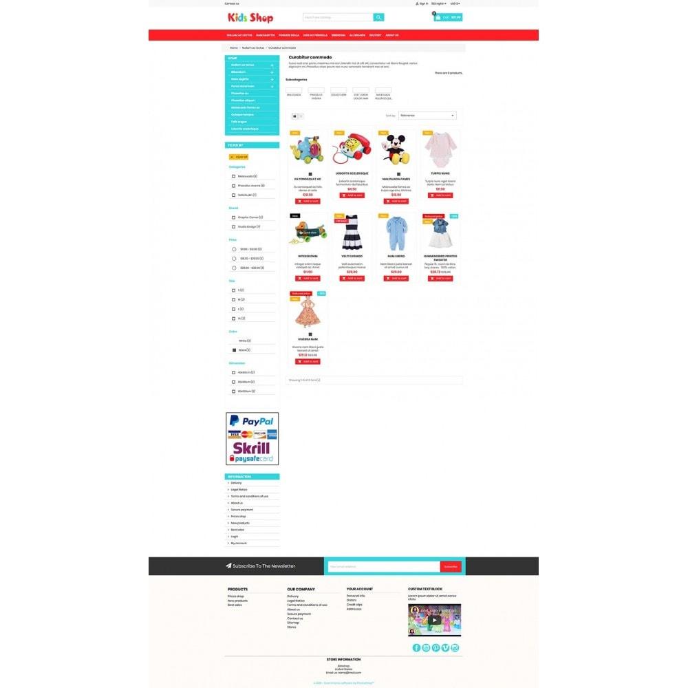theme - Enfants & Jouets - New Kids shop, Toy, play, cloths Multicolor store - 6