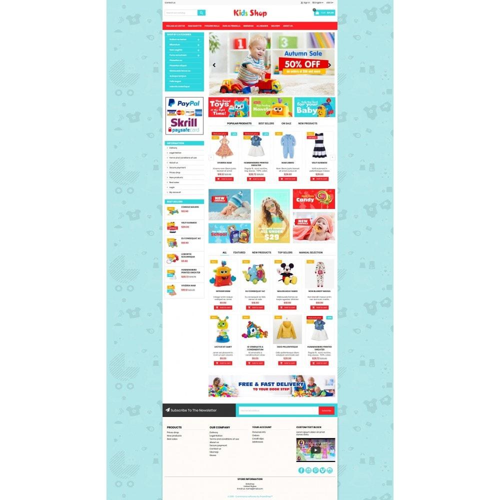 theme - Enfants & Jouets - New Kids shop, Toy, play, cloths Multicolor store - 7