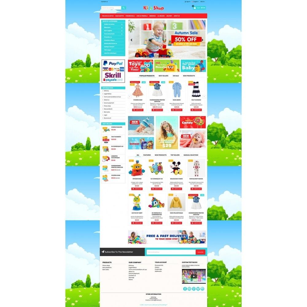 theme - Enfants & Jouets - New Kids shop, Toy, play, cloths Multicolor store - 8