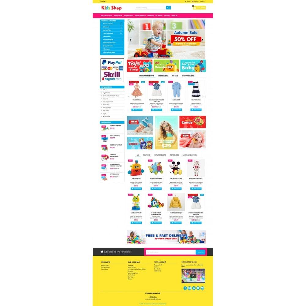 theme - Enfants & Jouets - New Kids shop, Toy, play, cloths Multicolor store - 9