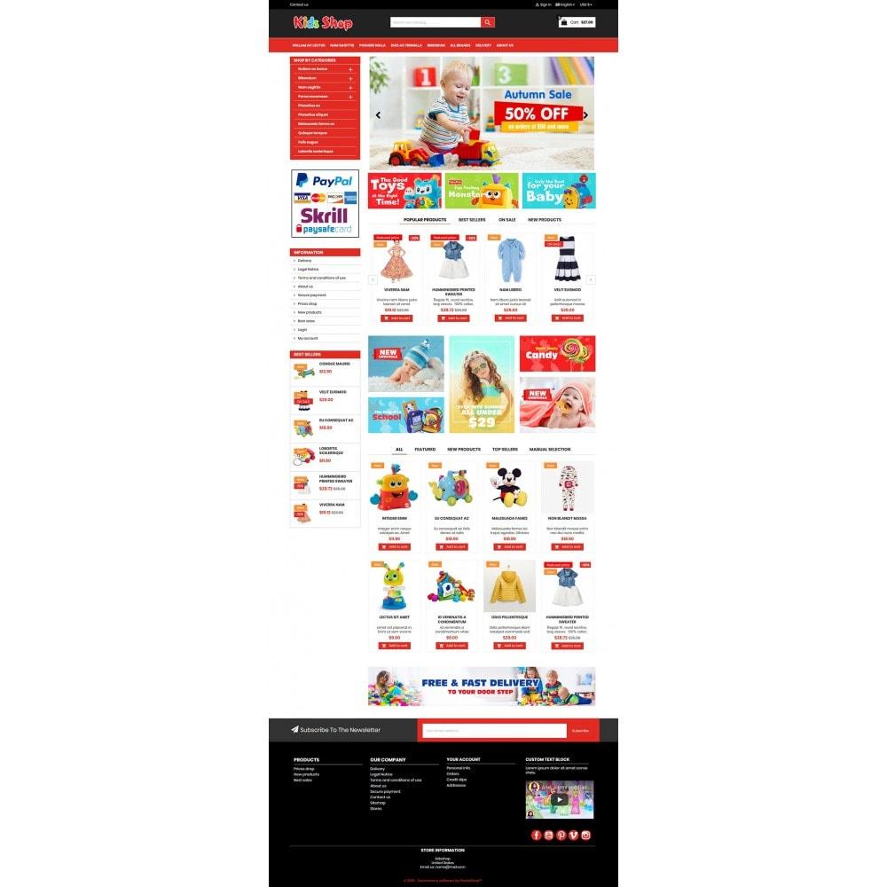 theme - Enfants & Jouets - New Kids shop, Toy, play, cloths Multicolor store - 11