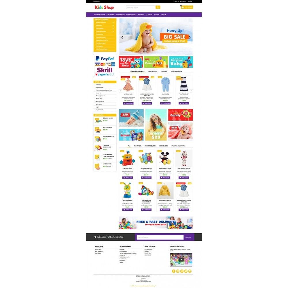 theme - Enfants & Jouets - New Kids shop, Toy, play, cloths Multicolor store - 12