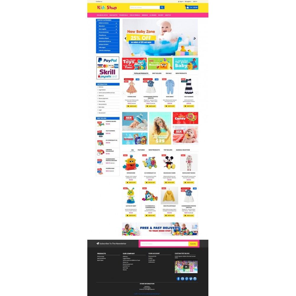 theme - Enfants & Jouets - New Kids shop, Toy, play, cloths Multicolor store - 13