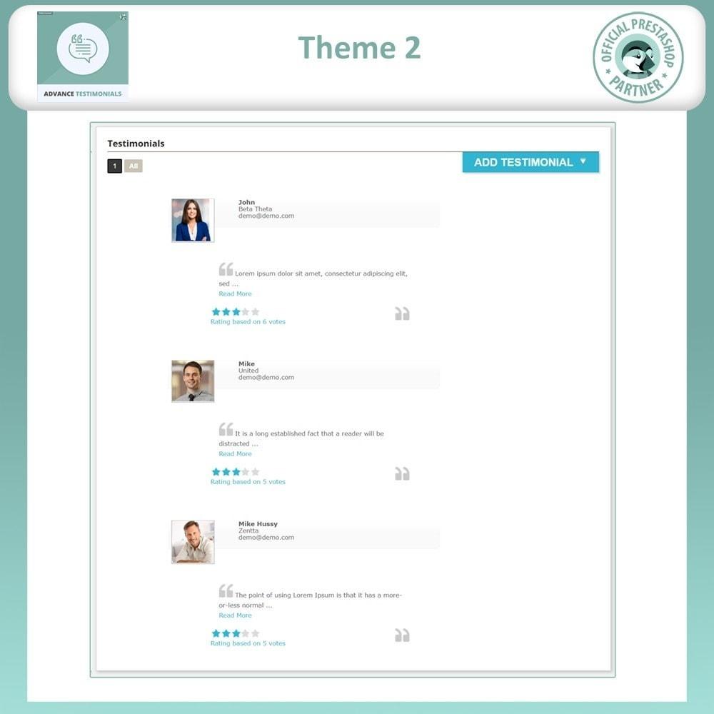 module - Opiniões de clientes - Advance Testimonials - Customer Reviews with Pictures - 4