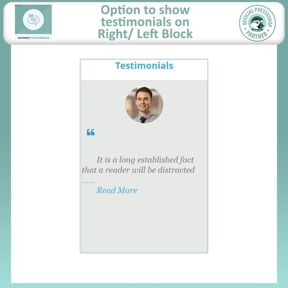 module - Opiniões de clientes - Advance Testimonials - Customer Reviews with Pictures - 9