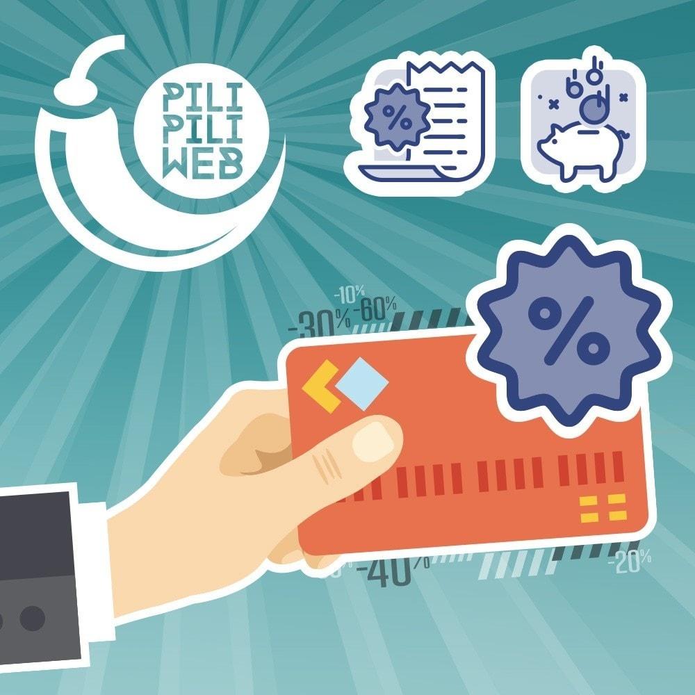 module - Promoties & Geschenken - Paid benefit cards / loyalty / discount - 1